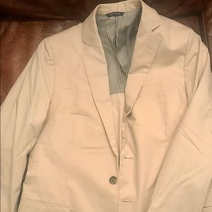 Brooks Brothers Cream Fitzgerald Suit